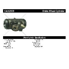 Centric Drum Brake Wheel Cylinder  Front Left