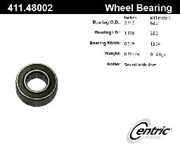 Centric Axle Shaft Bearing  Front Inner