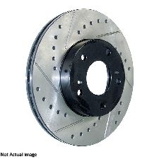 Centric Disc Brake Rotor  Rear Left