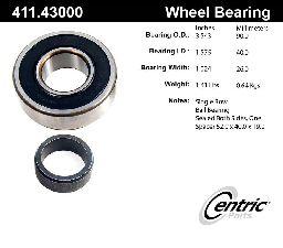 Centric Axle Shaft Bearing  Rear Inner