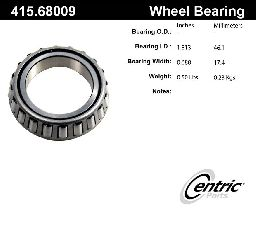 Centric Wheel Bearing  Rear Outer