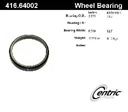 Centric Wheel Bearing Race  Rear Inner