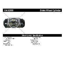 Centric Drum Brake Wheel Cylinder  Front Right