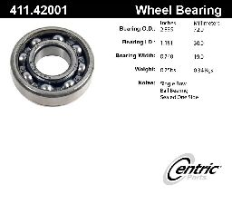 Centric Axle Shaft Bearing  Rear Outer