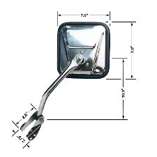 CIPA Door Mirror  Left