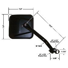 CIPA Door Mirror  Right