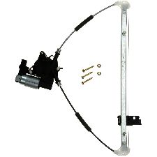 Continental Power Window Motor and Regulator Assembly  Rear Left