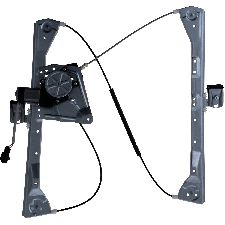 Continental Power Window Motor and Regulator Assembly  Rear Right