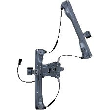Continental Power Window Motor and Regulator Assembly  Front Left