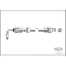 Corteco Brake Hydraulic Hose  Front