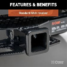 CURT Trailer Hitch  Rear