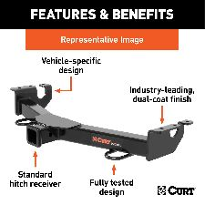 CURT Trailer Hitch  Front