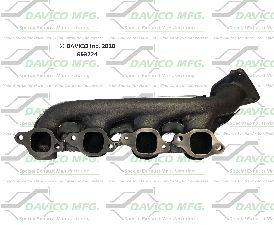 Davico Converters Exhaust Manifold  Left