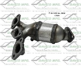 Davico Converters Catalytic Converter  Front Right