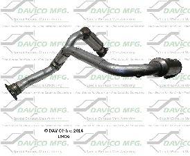 Davico Converters Catalytic Converter  Front