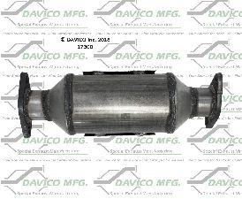 Davico Converters Catalytic Converter  Rear