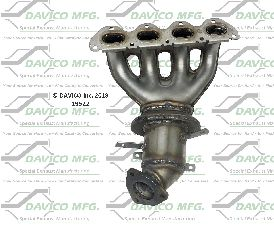Davico Converters Catalytic Converter  Front