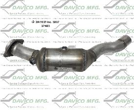 Davico Converters Catalytic Converter  Right
