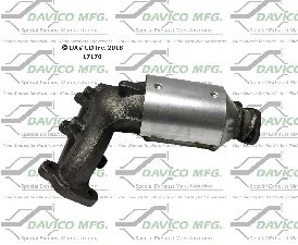 Davico Converters Catalytic Converter  Front Left