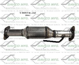 Davico Converters Catalytic Converter  Rear