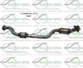 Davico Converters Catalytic Converter  Right