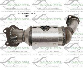 Davico Converters Catalytic Converter  Front Left