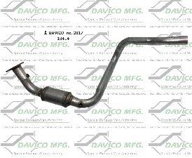 Davico Converters Catalytic Converter  Left