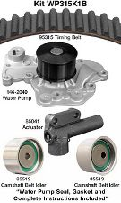 Dayco Engine Timing Belt Kit with Water Pump