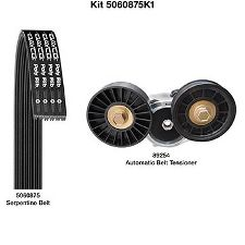Dayco Serpentine Belt Drive Component Kit  Main Drive