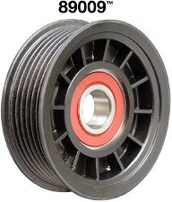 Dayco Accessory Drive Belt Tensioner Pulley  Grooved Pulley