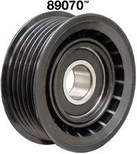 Dayco Accessory Drive Belt Idler Pulley  Grooved Pulley