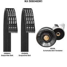 Dayco Serpentine Belt Drive Component Kit  Air Conditioning, Alternator and Tensioner