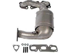 Dorman Catalytic Converter with Integrated Exhaust Manifold  Front