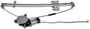 Dorman Power Window Motor and Regulator Assembly  Rear Right
