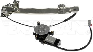 Dorman Power Window Motor and Regulator Assembly  Rear Left
