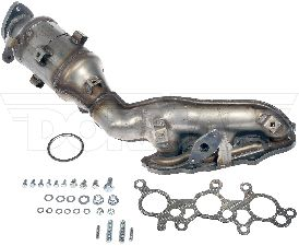 Dorman Catalytic Converter with Integrated Exhaust Manifold  Left