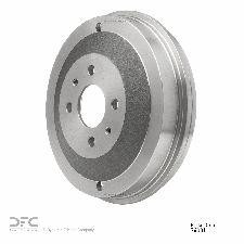 Dynamic Friction Brake Drum  Rear