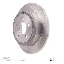 Dynamic Friction Disc Brake Rotor  Rear