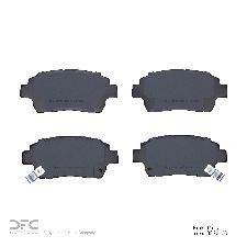 Dynamic Friction Disc Brake Pad Set  Front