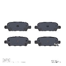 Dynamic Friction Disc Brake Pad Set  Rear