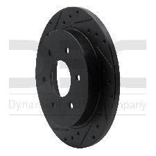 Dynamic Friction Disc Brake Rotor  Rear Left