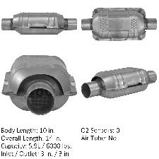 Eastern Catalytic Catalytic Converter  Rear