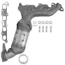 Eastern Catalytic Catalytic Converter with Integrated Exhaust Manifold  Front