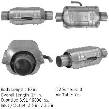 Catalytic Converter-Standard Universal Converter Rear//Left Walker 15032