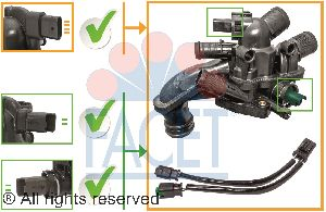 Facet Engine Coolant Thermostat  Bypass