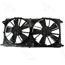 Four Seasons Dual Radiator and Condenser Fan Assembly