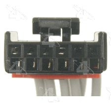 Four Seasons HVAC Mode Valve Actuator Motor Connector