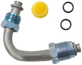 Gates Power Steering Pressure Line Hose Assembly  Tube - Tee to Gear