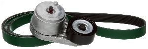 Gates Serpentine Belt Drive Component Kit  Alternator and Air Conditioning