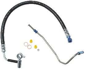 Gates Power Steering Pressure Line Hose Assembly  Pump To Gear